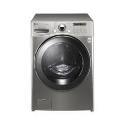 Lave-linge LG 6 Motion Direct Drive F1255FDS7 - Machine à laver - pose libre - chargement frontal - 112 litres - 17 kg - 1200 tours/min - acier VCM