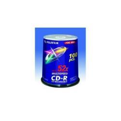 FUJIFILM - 100 x CD-R - 700 Mo ( 80 min ) 52x - spindle