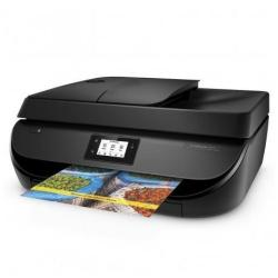 Imprimante  jet d'encre multifonction HP Officejet 4650 All-in-One - Imprimante multifonctions - couleur - jet d'encre - Letter A (216 x 279 mm)/A4 (210 x 297 mm) (original) - A4/Legal (support) - jusqu'à 7.5 ppm (copie) - jusqu'à 20 ppm (impression) - 100 feuilles - 33.6 Kbits/s - USB 2.0, Wi-Fi(n)