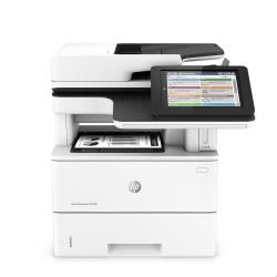 Imprimante laser multifonction HP LaserJet Enterprise MFP M527dn - Imprimante multifonctions - Noir et blanc - laser - Legal (216 x 356 mm) (original) - A4/Legal (support) - jusqu'à 43 ppm (impression) - 650 feuilles - USB 2.0, Gigabit LAN, hôte USB 2.0