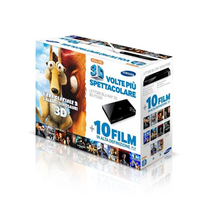 Samsung - BLURAY BD-F5500+10 BLURAY 2 3D 8 2D