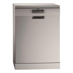 Lave-vaisselle AEG Favorit F66609M0P - Lave-vaisselle - pose libre - largeur : 59.6 cm - profondeur : 61 cm - hauteur : 85 cm - inox