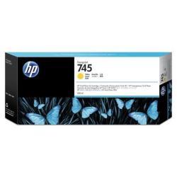 HP 745 - 300 ml - jaune - originale - DesignJet - cartouche d'encre - pour DesignJet Z2600 PostScript, Z5600 PostScript
