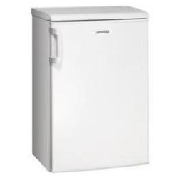 Réfrigérateur Smeg FA120AP - Réfrigérateur avec compartiment freezer - pose libre - largeur : 54.5 cm - profondeur : 60 cm - hauteur : 84 cm - 114 litres - classe A+ - blanc