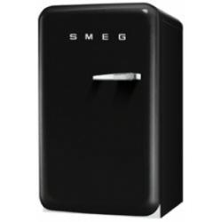 Réfrigérateur Smeg '50 FAB10HLNE - Réfrigérateur - pose libre - largeur : 54.3 cm - profondeur : 68 cm - hauteur : 96 cm - 130 litres - classe A+ - noir