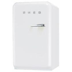 Réfrigérateur Smeg '50 FAB10LB - Réfrigérateur avec compartiment freezer - pose libre - largeur : 54.3 cm - profondeur : 68 cm - hauteur : 96 cm - 114 litres - encastré - classe A+ - blanc