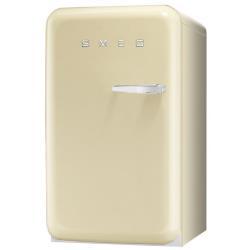 Réfrigérateur Smeg '50 FAB10LP - Réfrigérateur avec compartiment freezer - pose libre - largeur : 54.3 cm - profondeur : 68 cm - hauteur : 96 cm - 114 litres - classe A+ - crème
