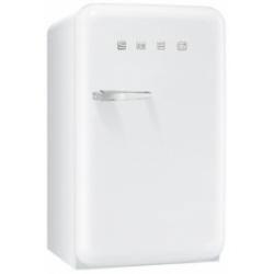 Réfrigérateur Smeg '50 FAB10RB - Réfrigérateur avec compartiment freezer - pose libre - largeur : 54.3 cm - profondeur : 68 cm - hauteur : 96 cm - 114 litres - encastré - classe A+ - blanc