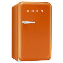 Réfrigérateur Smeg '50 FAB10RO - Réfrigérateur avec compartiment freezer - pose libre - largeur : 54.3 cm - profondeur : 68 cm - hauteur : 96 cm - 114 litres - classe A+ - orange