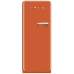 Réfrigérateur Smeg '50 FAB28LO1 - Réfrigérateur avec compartiment freezer - pose libre - largeur : 60 cm - profondeur : 73.2 cm - hauteur : 151 cm - 248 litres - Classe A++ - orange