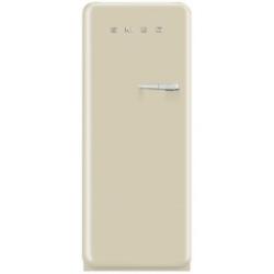 Réfrigérateur Smeg '50 FAB28LP1 - Réfrigérateur avec compartiment freezer - pose libre - largeur : 60 cm - profondeur : 73.2 cm - hauteur : 151 cm - 248 litres - Classe A++ - crème