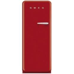 Réfrigérateur Smeg '50 FAB28LR1 - Réfrigérateur avec compartiment freezer - pose libre - largeur : 60 cm - profondeur : 73.2 cm - hauteur : 151 cm - 248 litres - Classe A++ - rouge