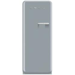R�frig�rateur Smeg '50 FAB28LX1 - R�frig�rateur avec compartiment freezer - pose libre - largeur : 60 cm - profondeur : 73.2 cm - hauteur : 151 cm - 248 litres - Classe A++ - gris m�tallis�