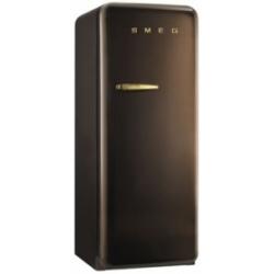 Réfrigérateur Smeg '50 FAB28RCG1 - Réfrigérateur avec compartiment freezer - pose libre - largeur : 60 cm - profondeur : 73.2 cm - hauteur : 151 cm - 248 litres - Classe A++ - chocolat