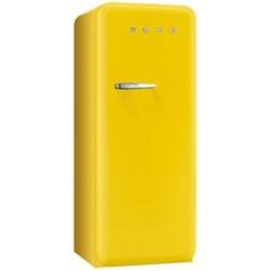 Réfrigérateur Smeg '50 FAB28RG1 - Réfrigérateur avec compartiment freezer - pose libre - largeur : 60 cm - profondeur : 73.2 cm - hauteur : 151 cm - 248 litres - Classe A++ - jaune