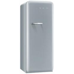R�frig�rateur Smeg '50 FAB28RX1 - R�frig�rateur avec compartiment freezer - pose libre - largeur : 60 cm - profondeur : 73.2 cm - hauteur : 151 cm - 248 litres - Classe A++ - argent polaire m�tallis�