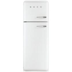 Réfrigérateur Smeg '50 FAB30LB1 - Réfrigérateur/congélateur - pose libre - largeur : 60 cm - profondeur : 54.2 cm - hauteur : 168.8 cm - 293 litres - congélateur haut - Classe A++ - blanc