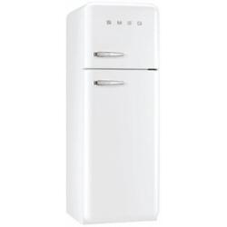 Réfrigérateur Smeg '50 FAB30RB1 - Réfrigérateur/congélateur - pose libre - largeur : 60 cm - profondeur : 54.2 cm - hauteur : 168.8 cm - 293 litres - congélateur haut - Classe A++ - blanc
