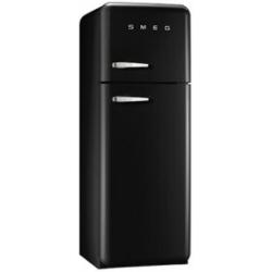 Réfrigérateur Smeg '50 FAB30RNE1 - Réfrigérateur/congélateur - pose libre - largeur : 60 cm - profondeur : 54.2 cm - hauteur : 168.8 cm - 293 litres - congélateur haut - Classe A++ - noir