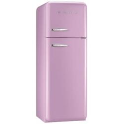 Réfrigérateur Smeg '50 FAB30RRO1 - Réfrigérateur/congélateur - pose libre - largeur : 60 cm - profondeur : 54.2 cm - hauteur : 168.8 cm - 293 litres - congélateur haut - Classe A++ - rose