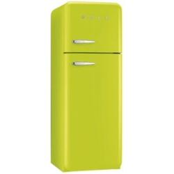 Réfrigérateur Smeg '50 FAB30RVE1 - Réfrigérateur/congélateur - pose libre - largeur : 60 cm - profondeur : 72 cm - hauteur : 168.8 cm - 293 litres - congélateur haut - Classe A++ - vert pomme