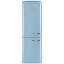 Réfrigérateur Smeg '50 FAB32LAZN1 - Réfrigérateur/congélateur - pose libre - largeur : 60 cm - profondeur : 72 cm - hauteur : 192 cm - 304 litres - congélateur bas - Classe A++ - bleu ciel