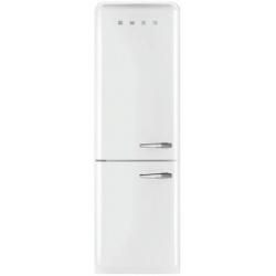 Réfrigérateur Smeg '50 FAB32LBN1 - Réfrigérateur/congélateur - pose libre - largeur : 60 cm - profondeur : 54.2 cm - hauteur : 192.6 cm - 304 litres - congélateur bas - Classe A++ - blanc
