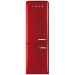 Réfrigérateur Smeg '50 FAB32LR1 - Réfrigérateur/congélateur - pose libre - largeur : 60 cm - profondeur : 72 cm - hauteur : 192.6 cm - 321 litres - congélateur bas - Classe A++ - rouge