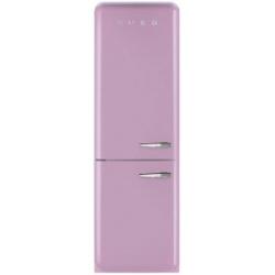Réfrigérateur Smeg '50 FAB32LRON1 - Réfrigérateur/congélateur - pose libre - largeur : 60 cm - profondeur : 54.2 cm - hauteur : 192.6 cm - 304 litres - congélateur bas - Classe A++ - rose cadillac