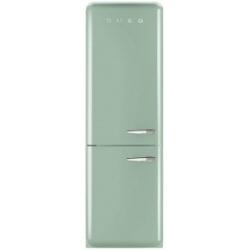 Réfrigérateur Smeg '50 FAB32LVN1 - Réfrigérateur/congélateur - pose libre - largeur : 60 cm - profondeur : 54.2 cm - hauteur : 192.6 cm - 304 litres - congélateur bas - Classe A++ - vert pastel
