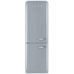 Réfrigérateur Smeg '50 FAB32LXN1 - Réfrigérateur/congélateur - pose libre - largeur : 60 cm - profondeur : 54.2 cm - hauteur : 192.6 cm - 304 litres - congélateur bas - Classe A++ - argent polaire métallisé