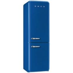 Réfrigérateur Smeg '50 FAB32RBLN1 - Réfrigérateur/congélateur - pose libre - largeur : 60 cm - profondeur : 54.2 cm - hauteur : 192.6 cm - 304 litres - congélateur bas - Classe A++ - bleu foncé