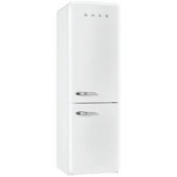 R�frig�rateur Smeg '50 FAB32RBN1 - R�frig�rateur/cong�lateur - pose libre - largeur : 60 cm - profondeur : 54.2 cm - hauteur : 192.6 cm - 304 litres - cong�lateur bas - Classe A++ - blanc