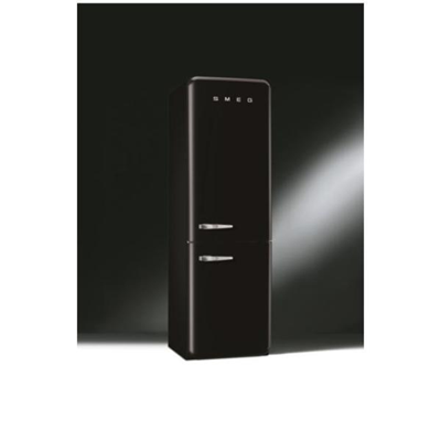 Smeg - SMEG FRIGO COMBINATO NERO DX