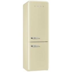 Réfrigérateur Smeg '50 FAB32RPN1 - Réfrigérateur/congélateur - pose libre - largeur : 60 cm - profondeur : 54.2 cm - hauteur : 192.6 cm - 304 litres - congélateur bas - Classe A++ - crème
