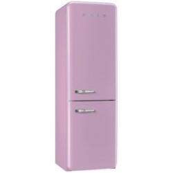 Réfrigérateur Smeg '50 FAB32RRON1 - Réfrigérateur/congélateur - pose libre - largeur : 60 cm - profondeur : 54.2 cm - hauteur : 192.6 cm - 304 litres - congélateur bas - Classe A++ - rose cadillac