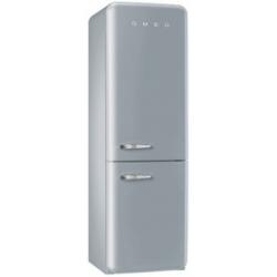 Réfrigérateur Smeg '50 FAB32RXN1 - Réfrigérateur/congélateur - pose libre - largeur : 60 cm - profondeur : 54.2 cm - hauteur : 192.6 cm - 304 litres - congélateur bas - Classe A++ - argent polaire métallisé