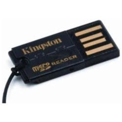 Lecteur de cartes mémoire Kingston USB microSD Reader - Lecteur de carte (microSD, microSDHC) - USB 2.0