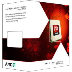 Processeur AMD Black Edition - AMD FX 6300 - 3.5 GHz - 6 c½urs - 6 fils - 8 Mo cache - Socket AM3+ - Box
