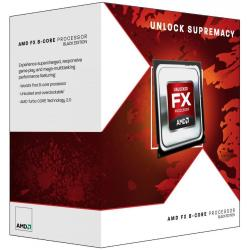 Processeur AMD Black Edition - AMD FX 8370 - 4 GHz - 8 c½urs - 8 filetages - Socket AM3+ - Box