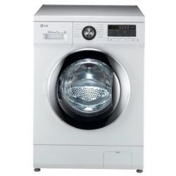 Lave-linge LG Direct Drive FH296QDA3 - Machine à laver - pose libre - largeur : 60 cm - profondeur : 55 cm - hauteur : 85 cm - chargement frontal - 58 litres - 7 kg - 1200 tours/min
