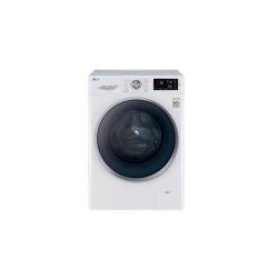 Lave-linge LG FH2U2TDN1 - Machine à laver - pose libre - largeur : 60 cm - profondeur : 56 cm - hauteur : 85 cm - chargement frontal - 59 litres - 8 kg - 1200 tours/min