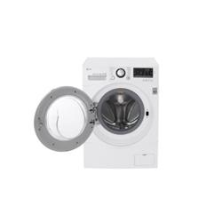 Lave-linge LG FH4A8FDN2 - Machine à laver - pose libre - largeur : 60 cm - profondeur : 64 cm - hauteur : 85 cm - chargement frontal - 62 litres - 9 kg - 1400 tours/min