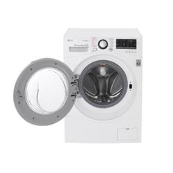 Lave-linge LG FH4A8JDS2 - Machine à laver - pose libre - largeur : 60 cm - profondeur : 64 cm - hauteur : 85 cm - chargement frontal - 67 litres - 10 kg - 1400 tours/min