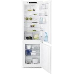 Réfrigérateur Electrolux FI22/11ND - Réfrigérateur/congélateur - intégrable - niche - largeur : 56 cm - profondeur : 55 cm - hauteur : 177.3 cm - 263 litres - congélateur bas - classe A+ - blanc