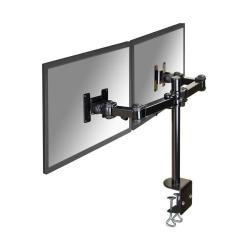 Full motion dual desk mount (clamp) fpma-d960d