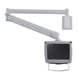 "Support pour LCD NewStar Medical Monitor Wall Mount (Full Motion gas spring) FPMA-HAW100HC - Montage mural pour Écran LCD - gris - Taille d'écran : 10""-30"""
