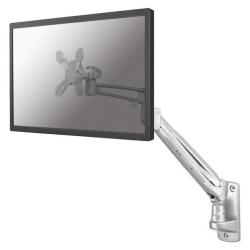 """Support pour LCD NewStar TV/Monitor Wall Mount (Full Motion & gas spring height adjustable) FPMA-W940 - Montage mural pour Écran LCD - argenté(e) - Taille d'écran : 10""""-24"""""""
