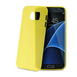 Cover FROSTS7EYL per Galaxy S7 Edge Tpu Giallo