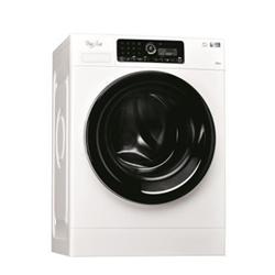 Lave-linge Whirlpool FSCR12434 - Machine à laver - pose libre - largeur : 59.5 cm - profondeur : 70 cm - hauteur : 85 cm - chargement frontal - 12 kg - 1400 tours/min - blanc